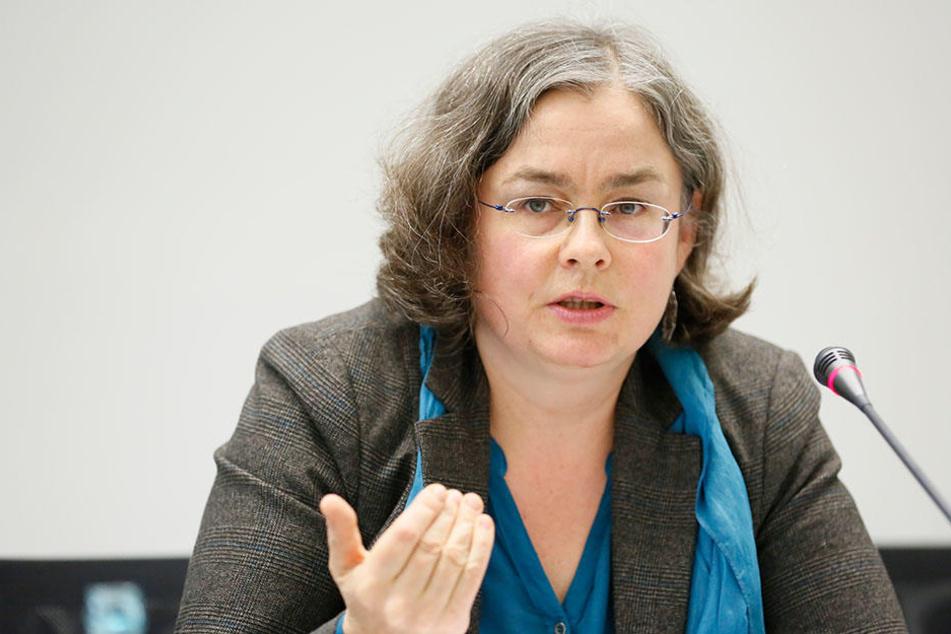 Mahnt zu mehr Hochwasserschutz: Umweltbürgermeisterin Eva Jähnigen (50, Grüne)