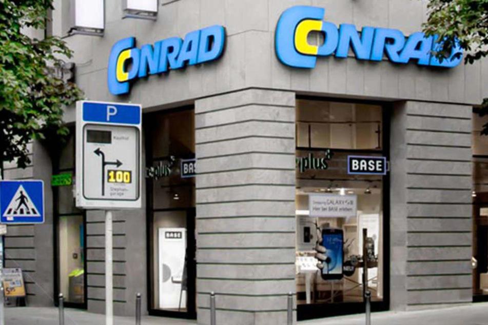 Die Conrad-Filiale auf der Kronenstraße 7 in Stuttgart.