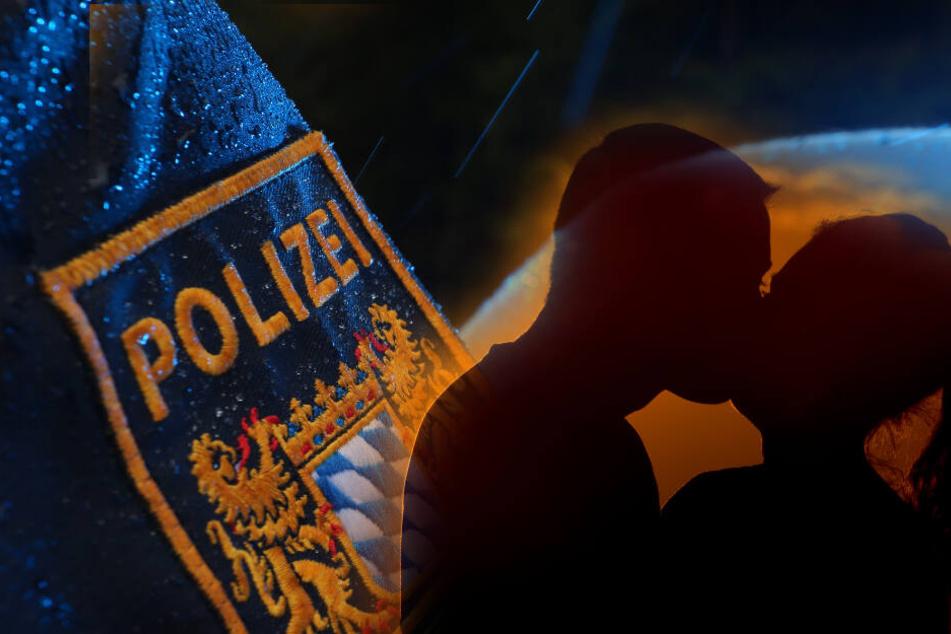 Heiße Küsse zwischen 61-Jährigem und 38-jähriger Freundin: Polizei muss ausrücken