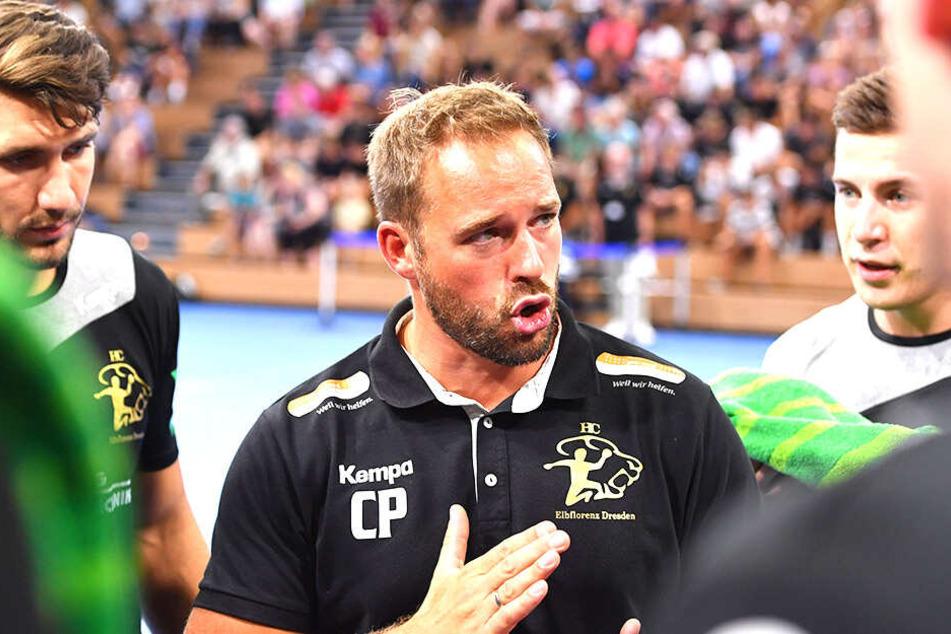 Auch Trainer Christian Pöhler sieht sein Team nicht chancenlos.