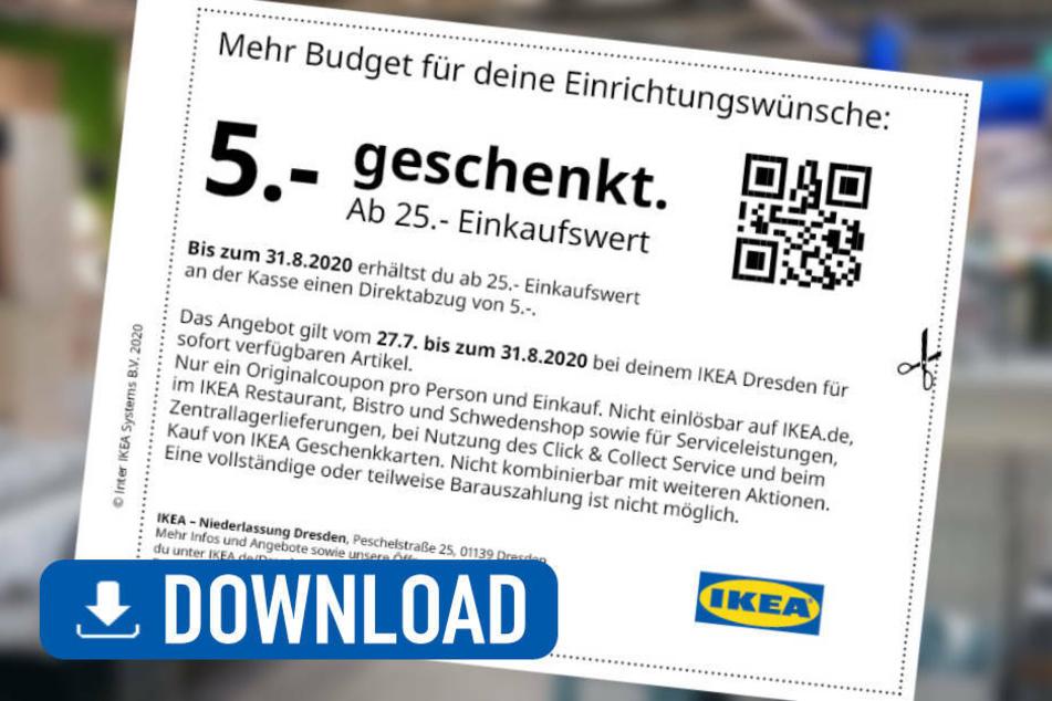 Mit diesem Coupon spart Ihr 5 Euro auf Euren Einkauf (Klick für Download)!