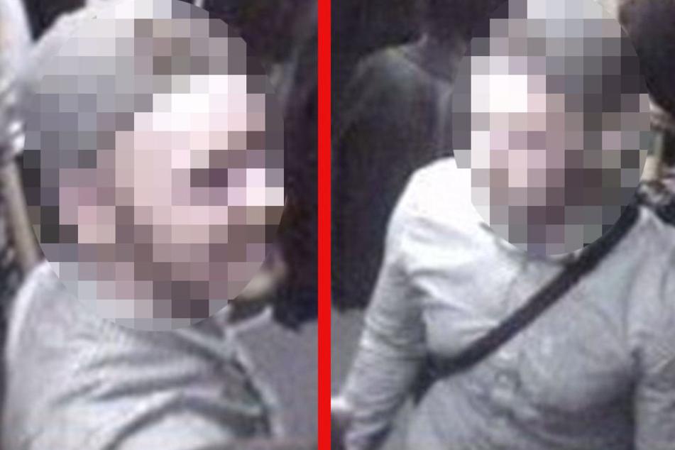 Mit Fahndungsbildern sucht die Polizei nach diesen Mann.