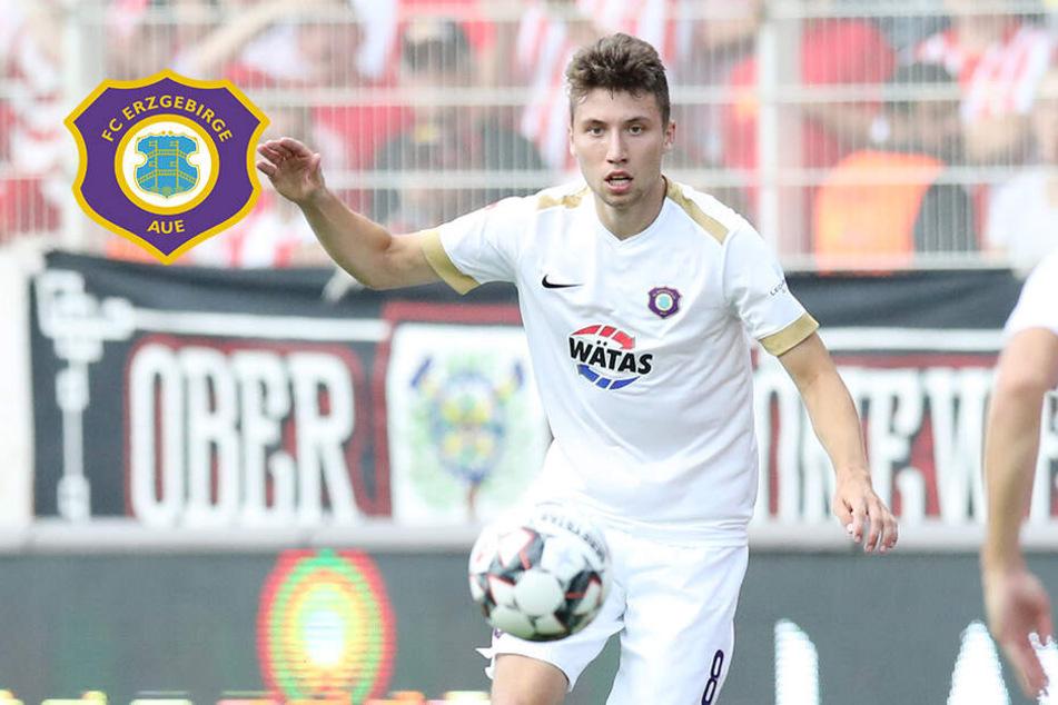 Zwei Tore gegen Jena: Aues Baumgart macht Schritt nach vorn