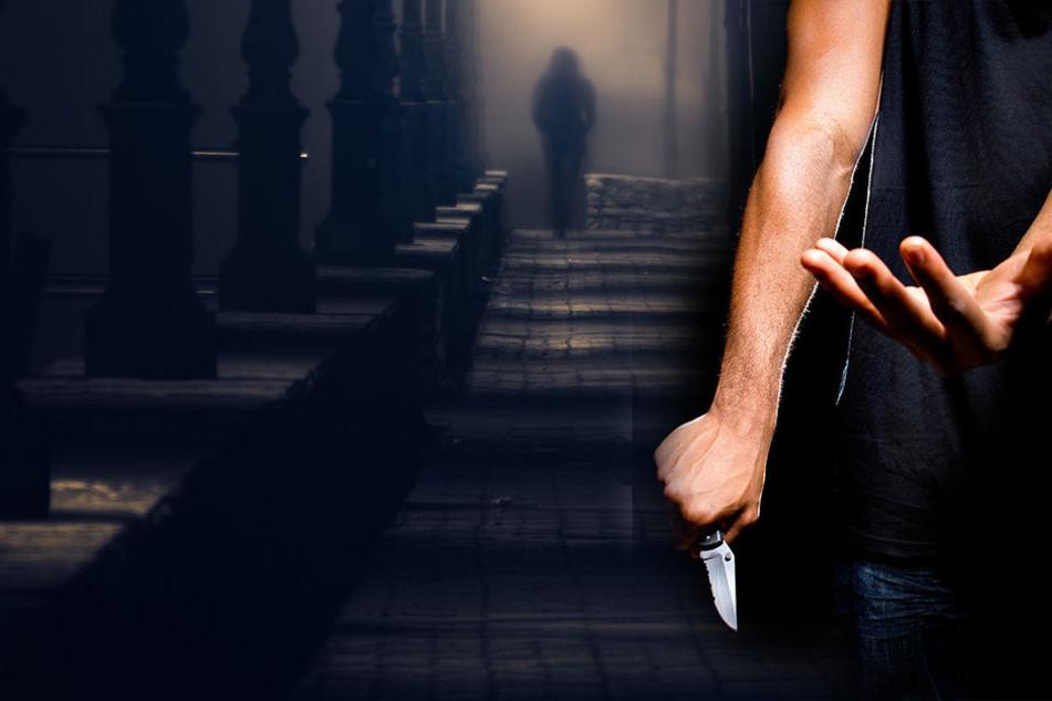 """""""Sonst stech ich dich ab!"""" Frau wird mit vorgehaltenem Messer ausgeraubt"""