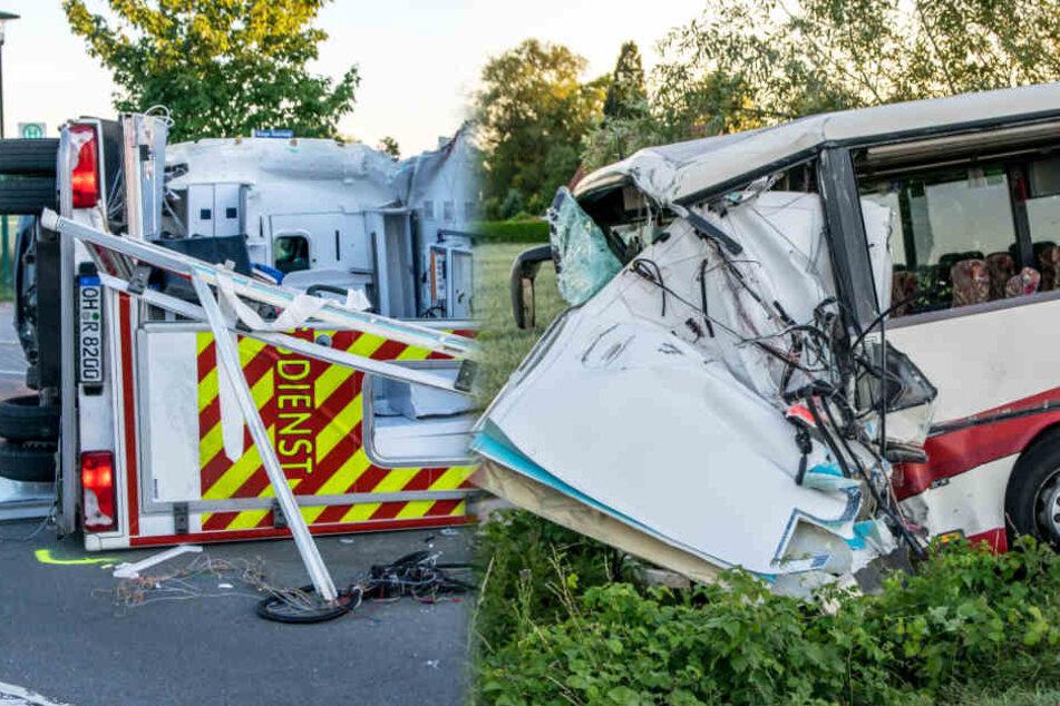 Betreuer von Jugendgruppe stirbt in Klinik nach Busunfall