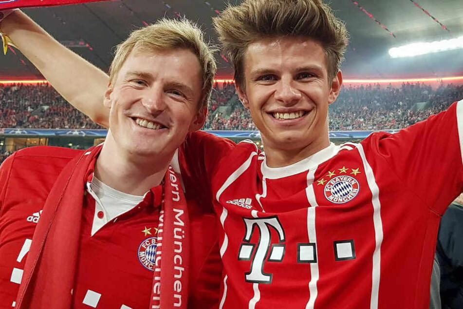 Der FC Bayern nimmt Andreas Wellinger (r.) mit in die USA.