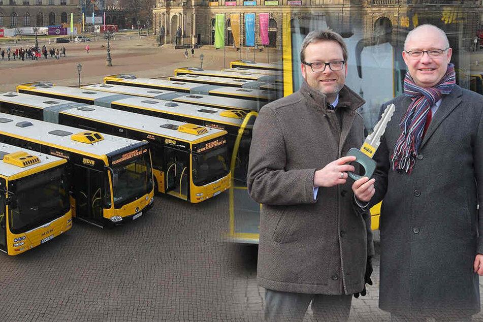 Das können die neuen Mega-Busse der DVB
