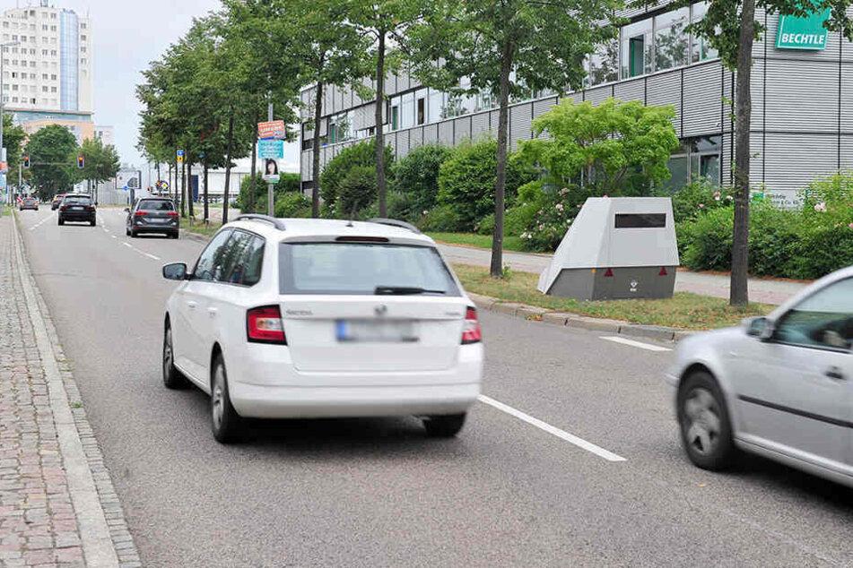 Auch an der Neefestraße wurde das Gerät bereits eingesetzt.