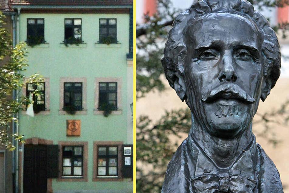 Das Karl-May-Haus in Hohenstein-Ernstthal soll erweitert werden. Zum 175.  Geburtstag Karl Mays gibt's freien Eintritt.