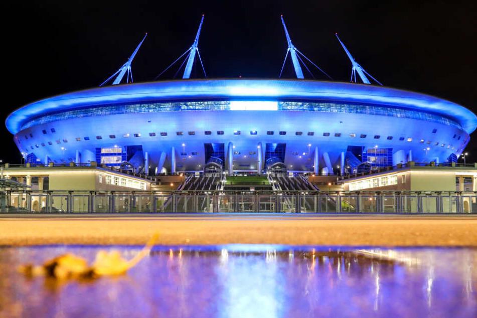 In der Gazprom Arena in St. Petersburg wollen die Roten Bullen ihr viertes Gruppenspiel gewinnen.
