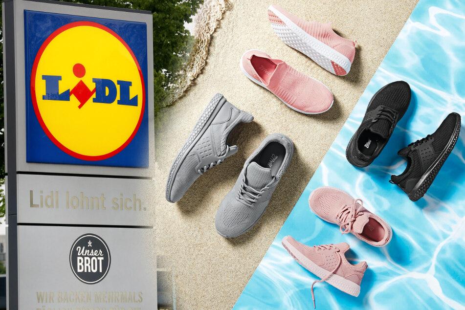 Recycling: Jetzt verkauft Lidl Schuhe aus Plastikflaschen
