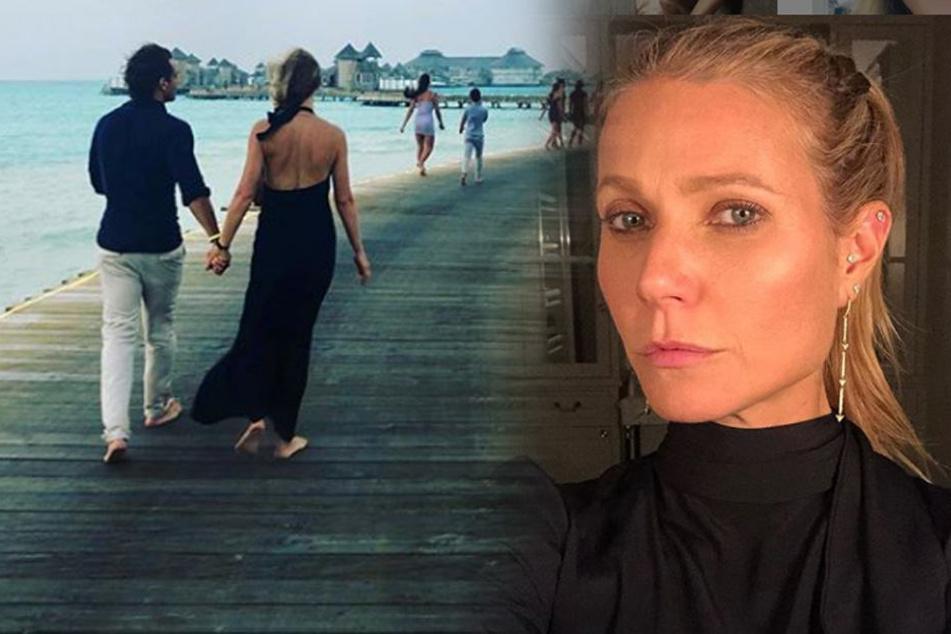Diese Blondine nimmt ihren Ex-Mann mit in die Flitterwochen