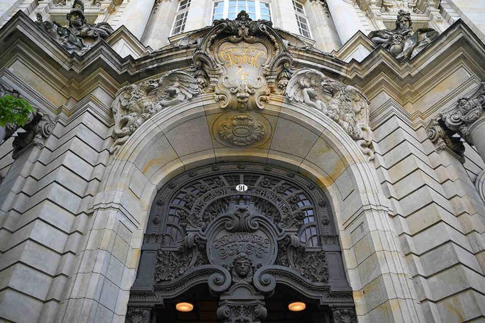 Das Berliner Landgericht in Moabit musste geräumt werden.