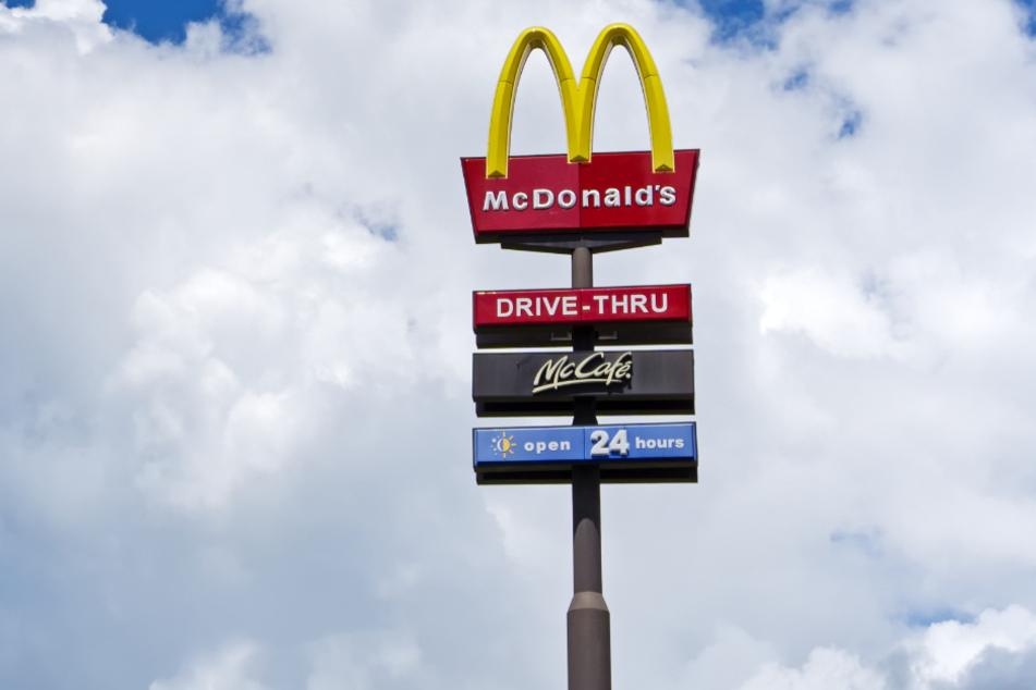 Mc Donald's war sich auch für diese Bestellung nicht zu schade (Symbolbild).