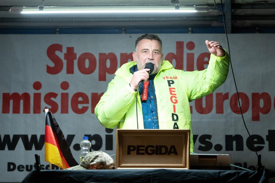 Die Pegida-Versammlung mit Lutz Bachmann wurde verboten.