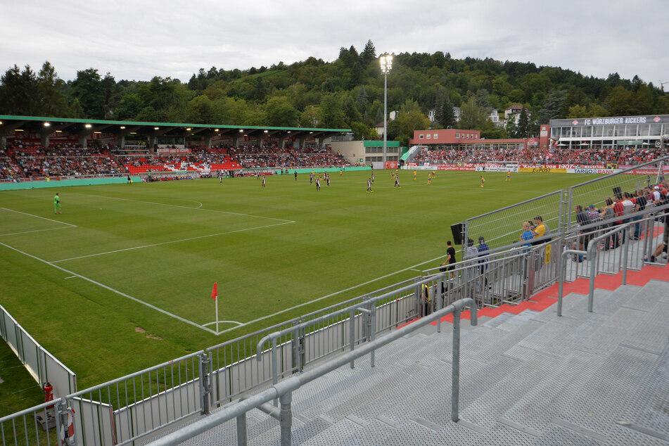 Das Stadion in Würzburg. Bald Spielstätte des FC Carl Zeiss Jena?