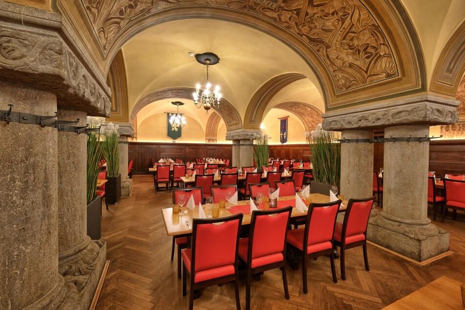 """Der Ratskeller Leipzig wurde von der Reiseplattform TripAdvisor als Deutschlands bestes """"Restaurant für jeden Tag"""" ausgezeichnet."""