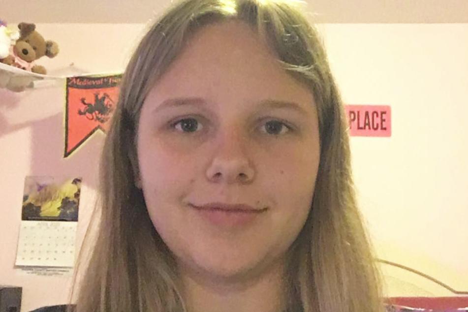 Joslyn Stinchcomb (15) auf einem Facebook-Selfie vor dem schrecklichen Unglück.
