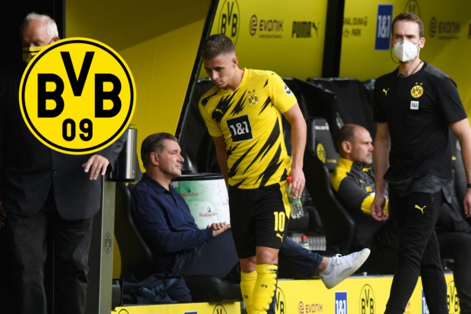 BVB Star Thorgan Hazard fällt wochenlang verletzt aus
