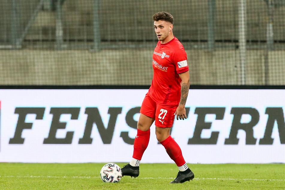 Yannik Möker (21) unterschrieb beim FSV Zwickau einen neuen Vertrag, der bis zum 30. Juni 2023 gültig ist.