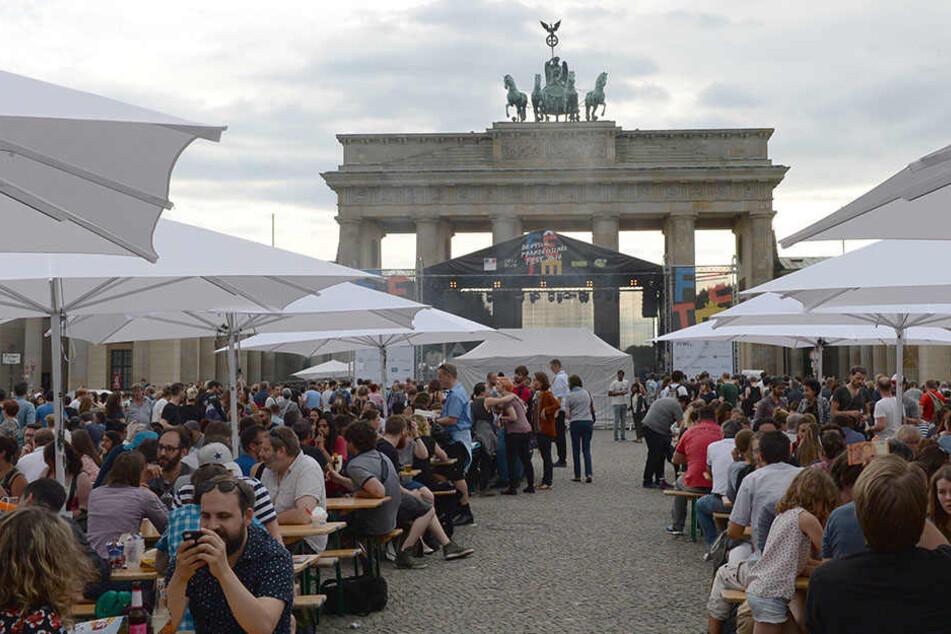 Auch in diesem Jahr findet das Deutsch-Französische Fest am Brandenburger Tor statt.