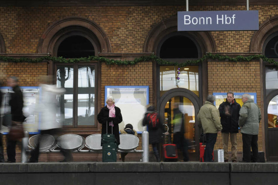 Der Bonner Hauptbahnhof wird momentan umfassend saniert.