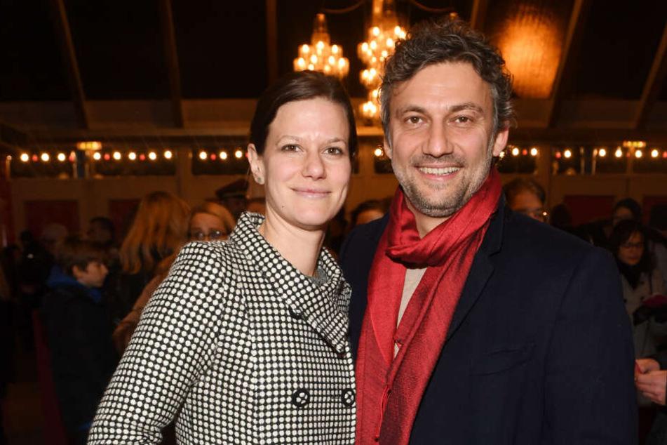 Der Tenor Jonas Kaufmann und seine Ehefrau Christiane Lutz haben ein erst wenige Monate altes Baby.