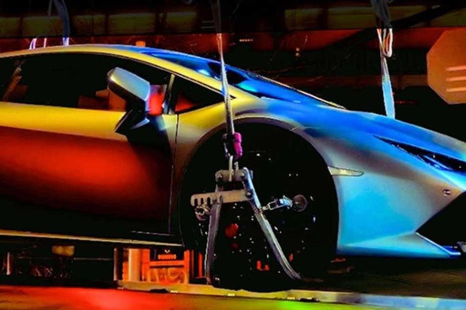 Illegales Rennen: Polizei hat Super-Sportwagen mit 600 PS am Haken