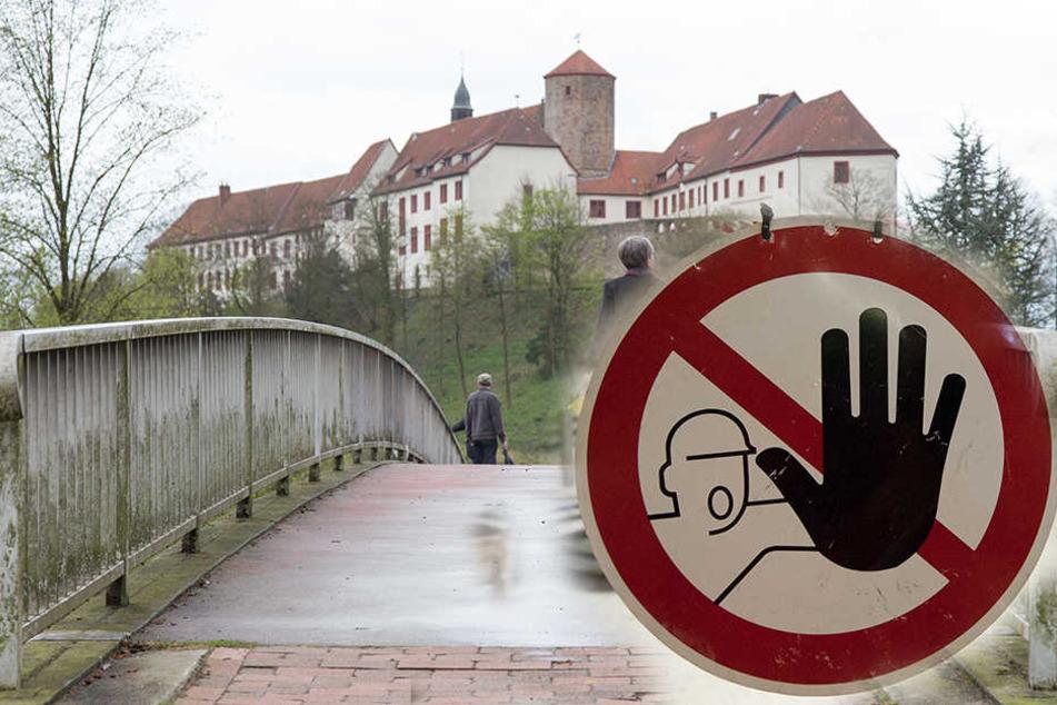 In Niedersachswerfen wird nun eine Fußgängerbrücke dauerhaft gesperrt. (Symbolbild)