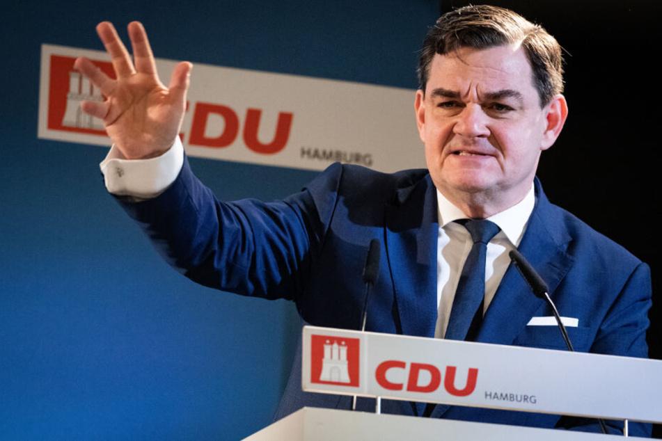 Marcus Weinberg ist Spitzenkandidat der CDU für die kommende Bürgerschaftswahl in Hamburg. (Archivbild)