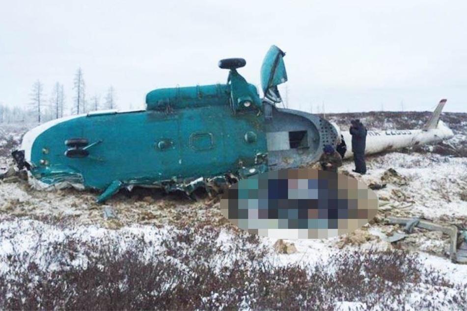 Hubschrauber stürzt ab: Zwei Tote und mehrere Schwerverletzte!