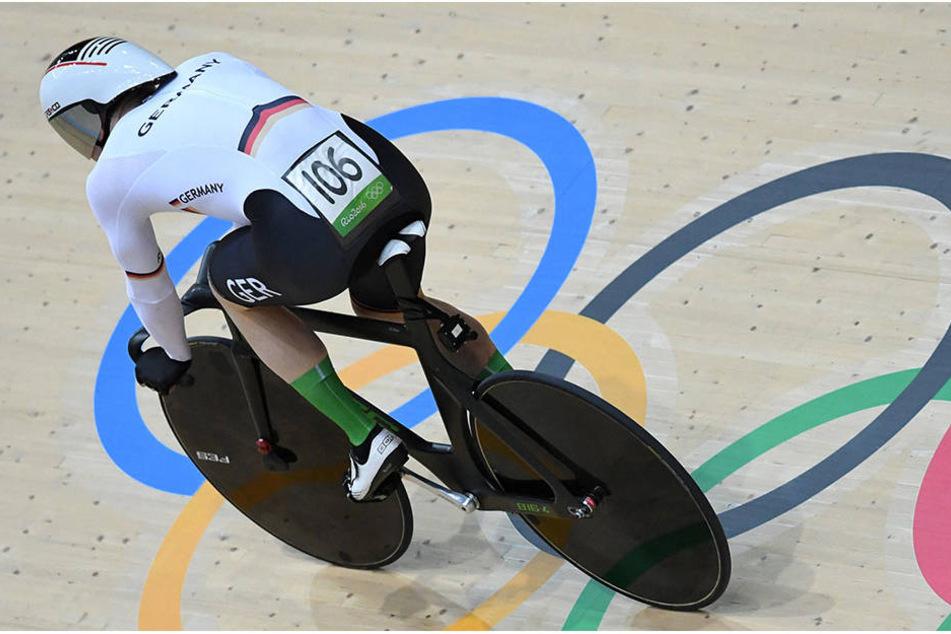 Joachim Eilers verpasste mit seinen Teamkollegen den Einzug ins Finale der Teamsprinter.