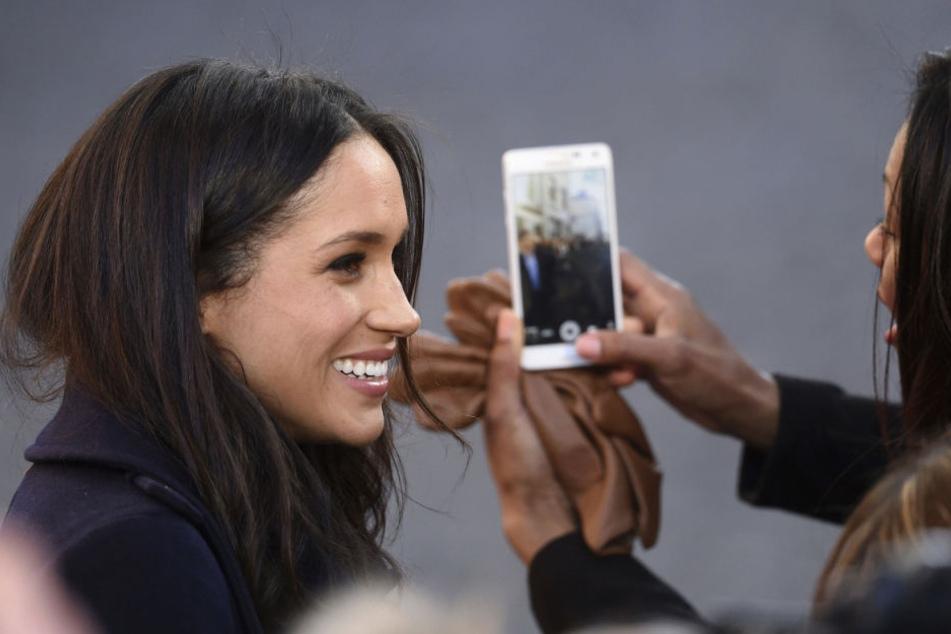 Alle wollen ihre Nase: Meghan Markle (36), die Verlobte von Prinz Harry (33).