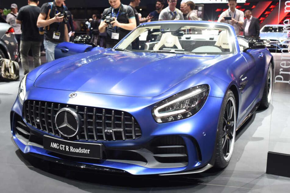 Einen Mercedes der AMG-Reihe soll sich Capital Bra gegönnt haben. (Symbolfoto)