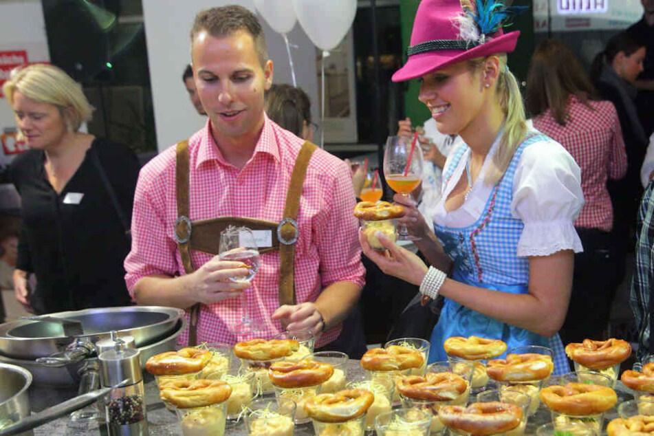 Mit bayrischen Leckereien verwöhnt Euch auch dieses Jahr wieder Art Catering.