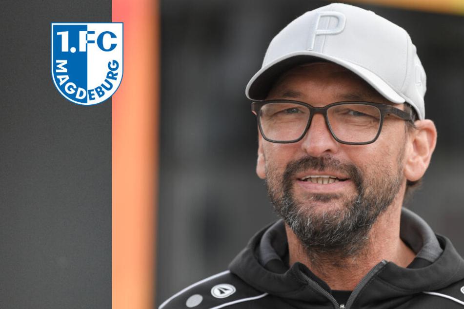 """1. FC Magdeburg: """"Pele"""" Wollitz ist neuer Trainer!"""
