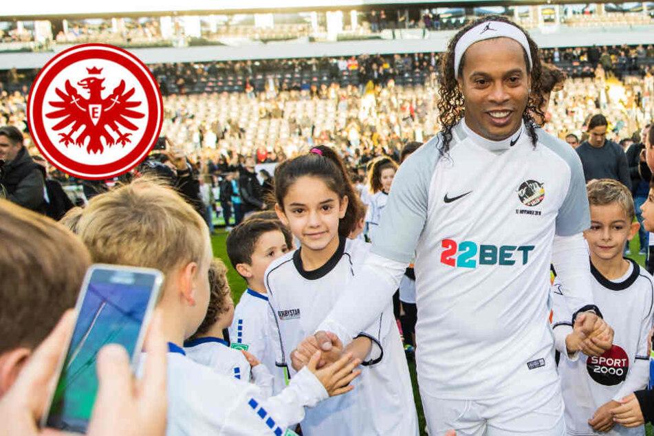 Neun Tore! Ronaldinhos Team besiegt Eintracht-Allstars