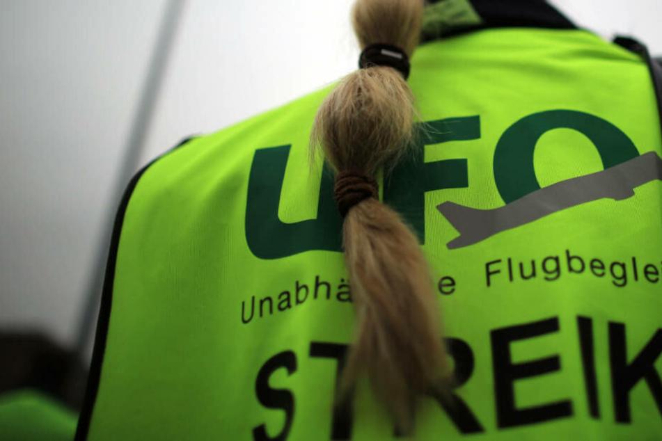 Die Gewerkschaft Ufo wird am Sonntag vier Tochterunternehmen der Lufthansa bestreiken.