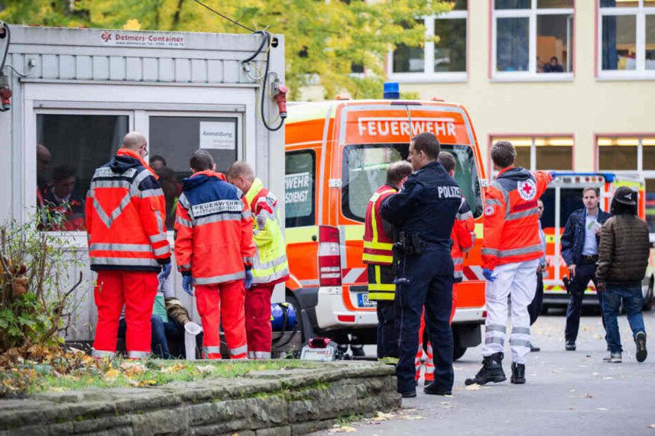 Sechs Schüler mussten ins Krankenhaus gebracht werden. (Symbolbild)