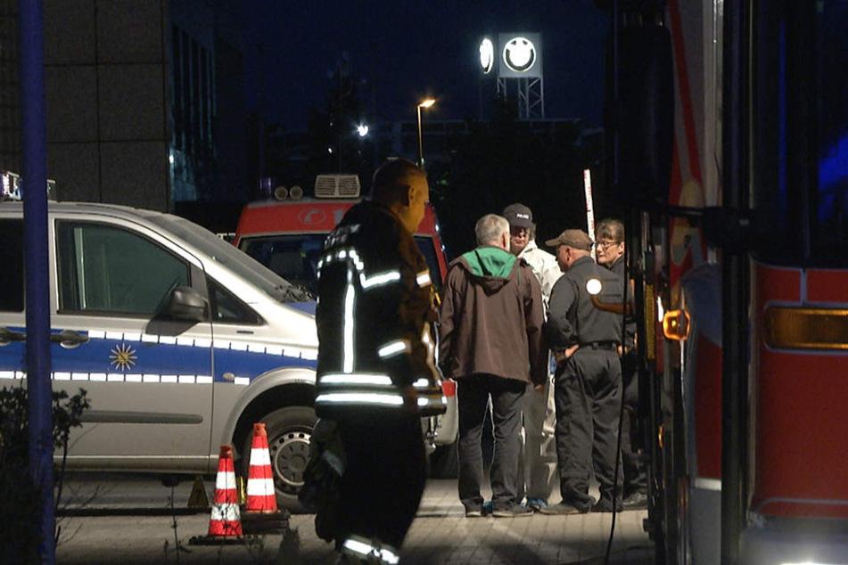 Die Polizeistation in Leipzig-Paunsdorf ist rund um die Uhr besetzt. Aus diesem Grund wurde der Brand schnell bemerkt und gelöscht.