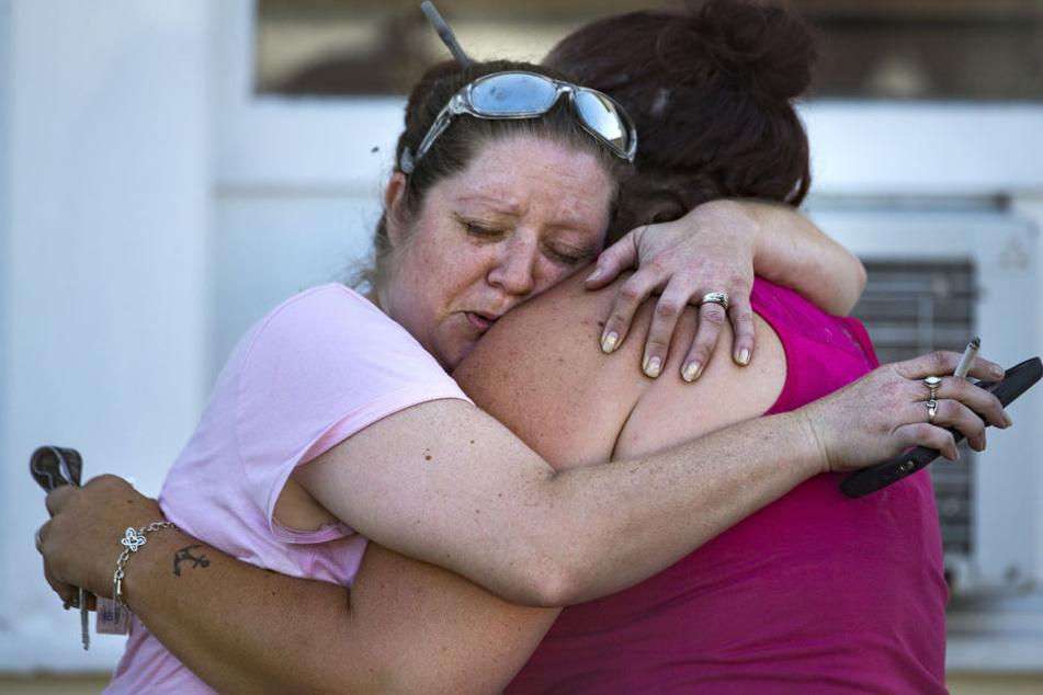 Die Menschen in Texas trauern. Insgesamt wurden 26 Personen getötet.