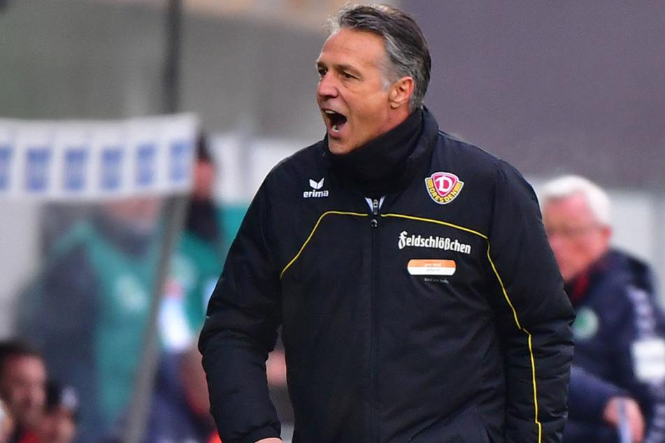 Muss Lösungen finden: SGD-Coach Uwe Neuhaus.