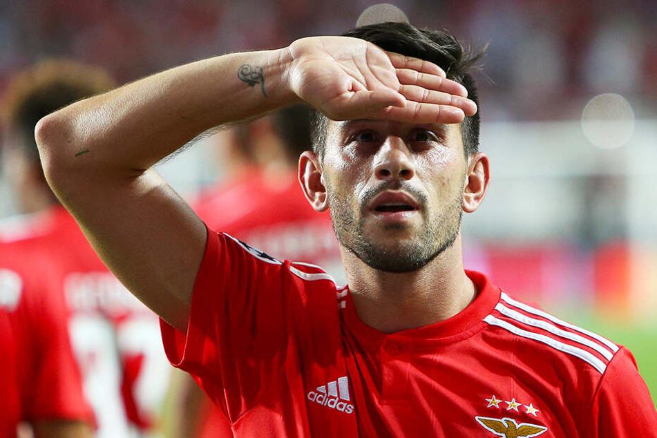 Ein Tor, vier direkte Vorlagen: Mittelfeldspieler Pizzi hatte großen Anteil am überragenden Kantsieg von Benfica Lissabon.