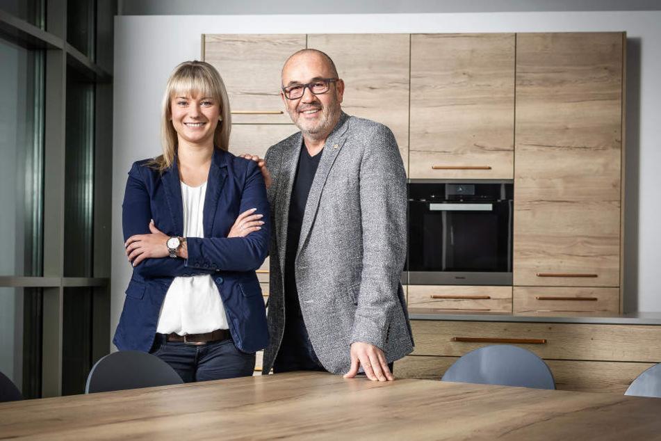 Dirk Hähnchen und Peggy Czerczick blicken auf ein aufregendes Jahr zurück.