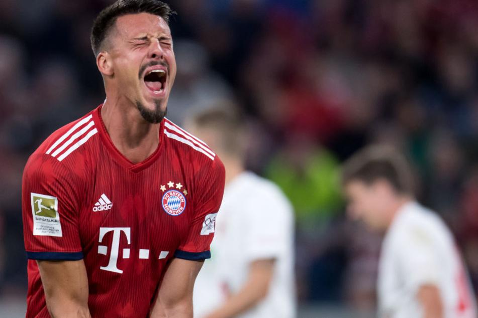 Sitzt beim Rekordmeister Bayern München meistens auf der Bank: Sandro Wagner (30) soll beim VfB Stuttgart im Gespräch sein. (Symbolbild)