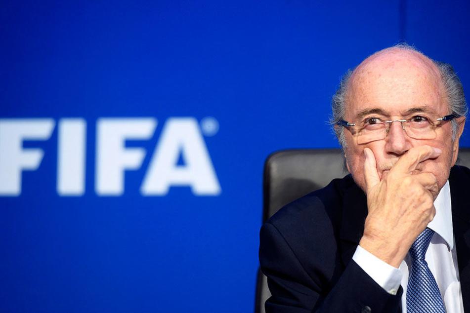 Joesph Blatter spricht sich für eine WM in Marokko aus.