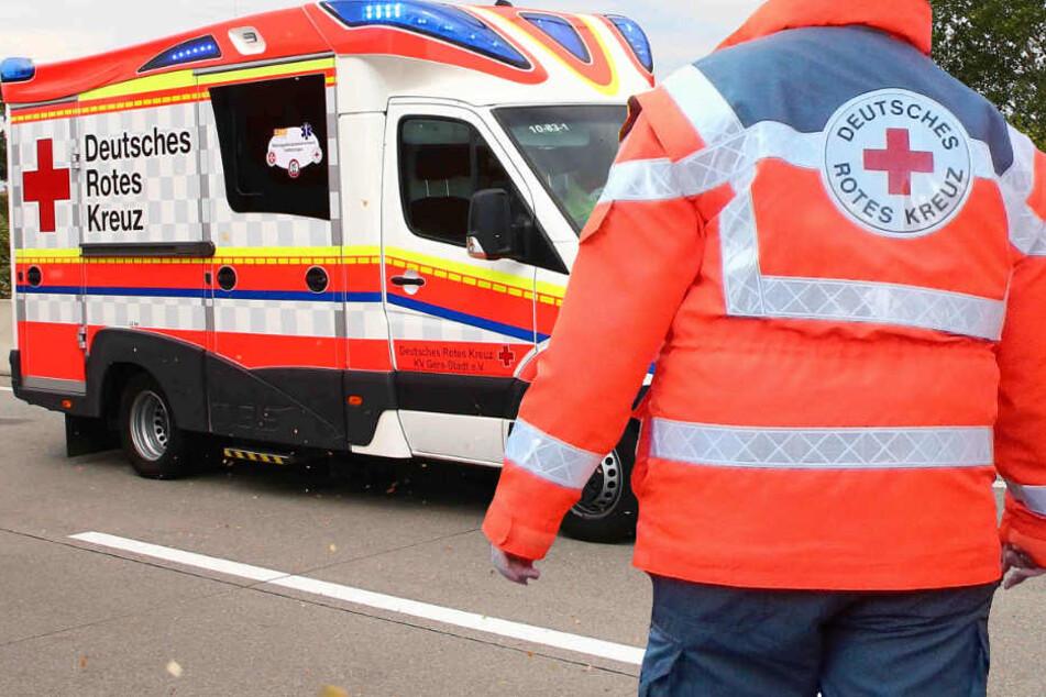 Die Rettungskräfte waren schnell vor Ort (Symbolbild).