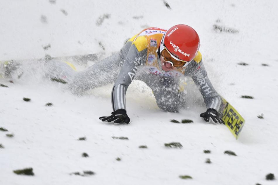 Nach dem Sturz in Innsbruck musste sich Richard Freitag zwei Wochen lang schonen, nun will er wieder angreifen.