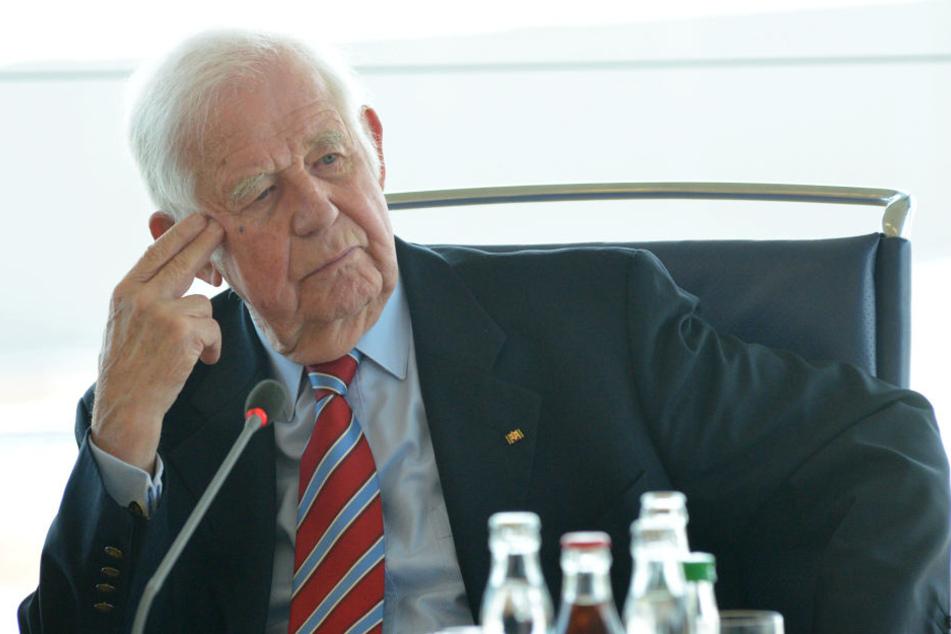 Nur Schwiegervater Kurt Biedenkopf (87) war nicht dabei.