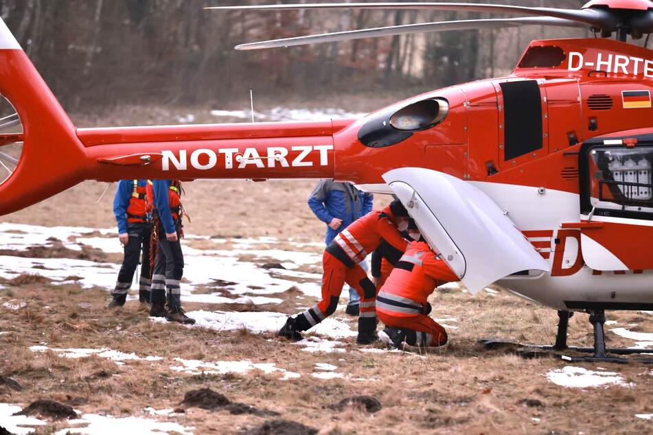 Wanderunfall im Felsenlabyrinth: Frau muss mit Helikopter in Klinik geflogen werden